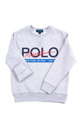 Grey pullover sweatshirt Polo Ralph Lauren