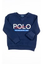 Navy blue pullover sweatshirt, Polo Ralph Lauren