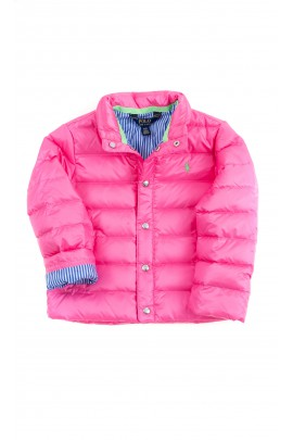 Pink insulated jacket, Polo Ralph Lauren