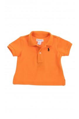 Orange polo T-shirt, Ralph Lauren