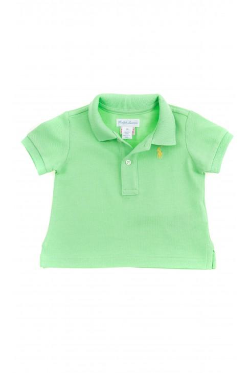 Aquamarine Polo shirt for boys, Polo Ralph Lauren