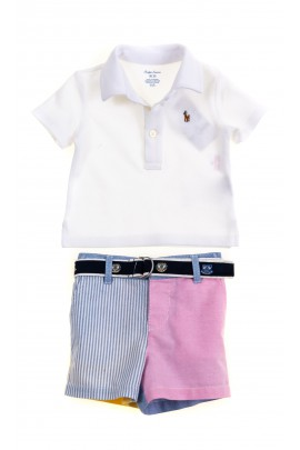 Baby set for boys - Polo shirt and shorts, Ralph Lauren