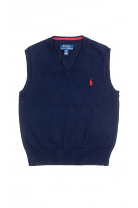 Navy blue vest for boys, Polo Ralph Lauren