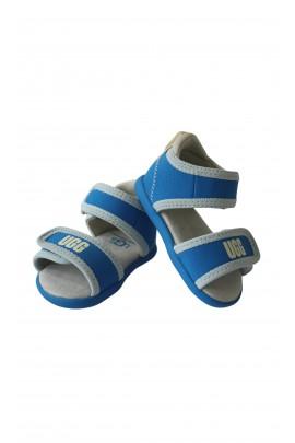 Blue baby sandals, UGG