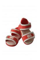 Orange baby sandals, UGG