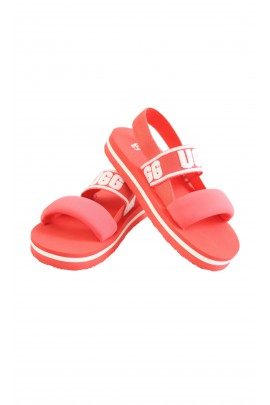 Orange sandals for kids, UGG