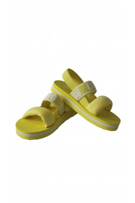 Yellow sandals for kids, UGG