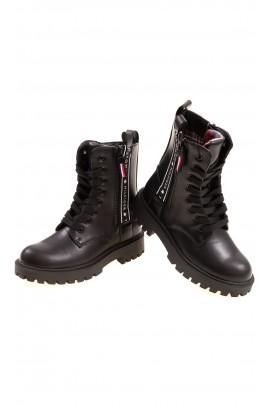 Black ankle boots, Tommy Hilfiger