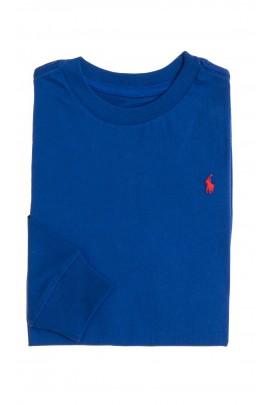 Long-sleeved sapphire T-shirt, Polo Ralph Lauren