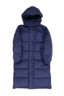 Navy blue down coat for boys, Polo Ralph Lauren