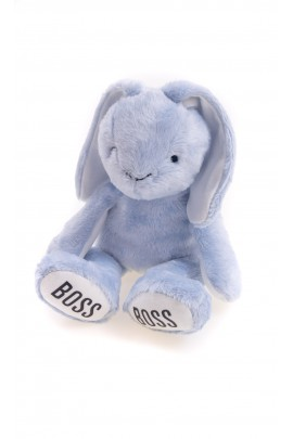 Bunny - blue mascot for a baby, Hugo Boss