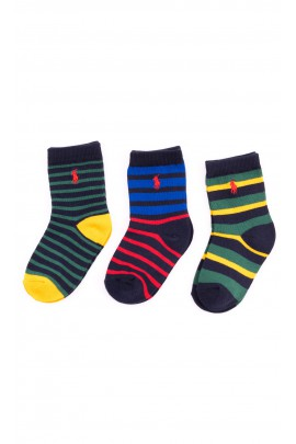 Colourful striped socks, Polo Ralph Lauren
