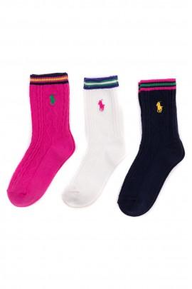 Colourful socks for girls, Polo Ralph Lauren