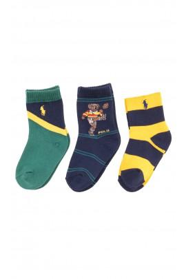 Colourful socks for boys, Polo Ralph Lauren