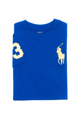 Sapphire T-shirt for boys, Polo Ralph Lauren