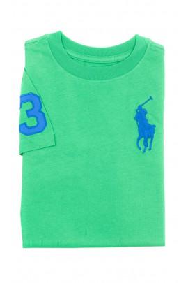 Green T-shirt for boys, Polo Ralph Lauren