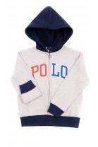 Gray hoodie with POLO logo, Polo Ralph Lauren