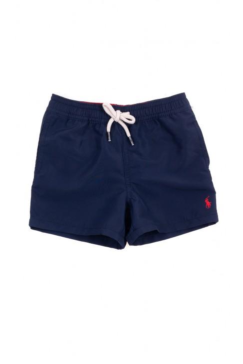 Navy blue baby swimming shorts, Ralph Lauren