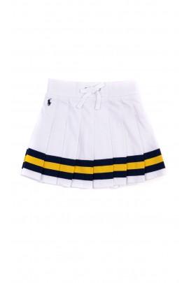 White pleated skirt, Polo Ralph Lauren