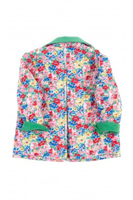 Transitional jacket with colorful flowers, Ralph Lauren