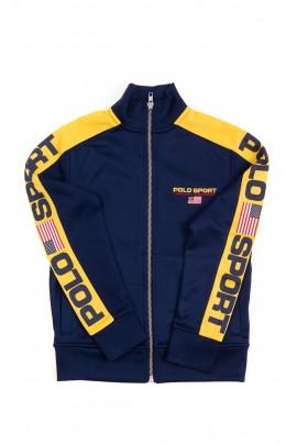 Navy blue sweatshirt for boys, Polo Ralph Lauren