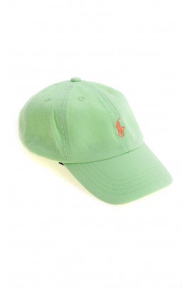 Celadon baseball cap for children, Polo Ralph Lauren
