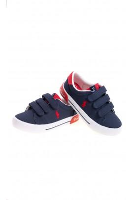 Navy blue sneakers for boys, Polo Ralph Lauren