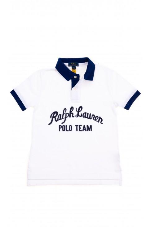 White polo shirt for boys, Polo Ralph Lauren