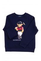 Navy blue sweatshirt with the iconic teddy bear, Polo Ralph Lauren
