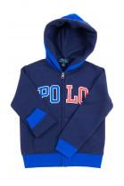 Navy blue sweatshirt with front zip, Polo Ralph Lauren