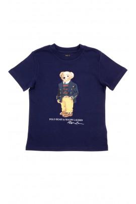 Navy blue t-shirt for boys, Polo Ralph Lauren