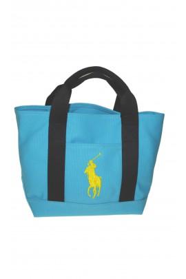 Blue handbag, Polo Ralph Lauren