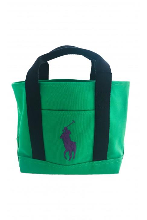 Green handbag, Polo Ralph Lauren