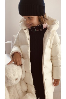 White down coat for girls, Polo Ralph Lauren