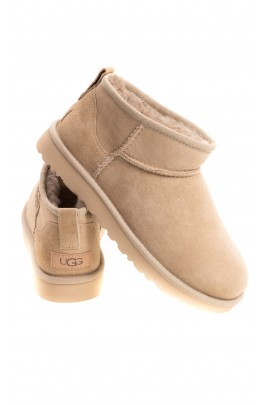 Classic ultra mini, UGG beige boots