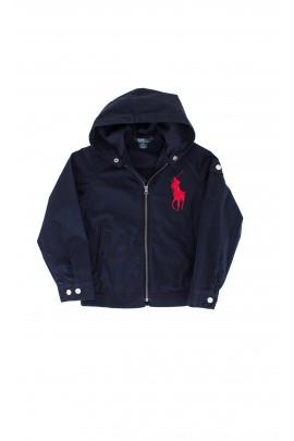 Navy blue hooded jacket, Polo Ralph Lauren