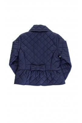 Quilted navy blue coat, Ralph Lauren