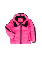 Hot pink ski coat, Ralph Lauren