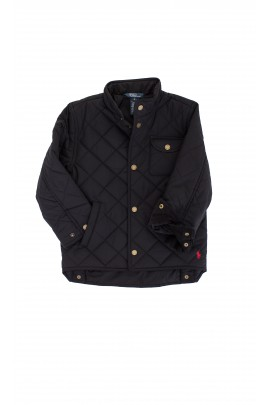 Black quilted jacket, Polo Ralph Lauren