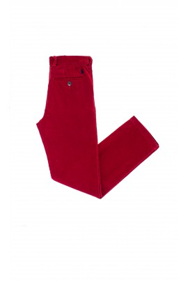 Ruby red corduroy trousers, Polo Ralph Lauren