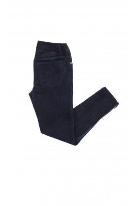 Navy blue corduroy trousers, Ralph Lauren