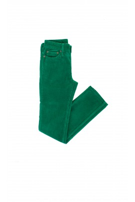 Dark-green corduroy trousers, Polo Ralph Lauren