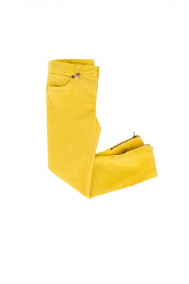 Yellow corduroy trousers, Ralph Lauren