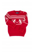 Red patterned sweater, Polo Ralph Lauren