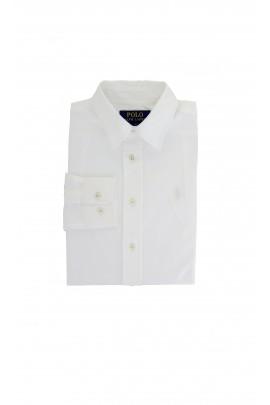 Elegant white shirt with white pony, Polo Ralph Lauren