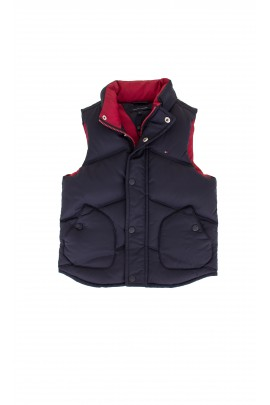 Navy blue down vest, Tommy Hilfiger