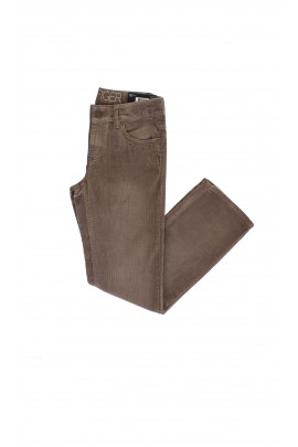Grey and brown corduroy trousers, Tommy Hilfiger