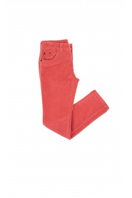 Orange corduroy trousers, Tommy Hilfiger