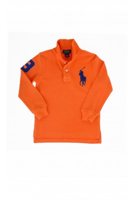 Orange polo shirt, Polo Ralph Lauren