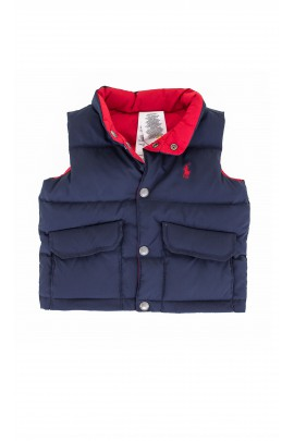 Two-sided red-navy gilet, Polo Ralph Lauren